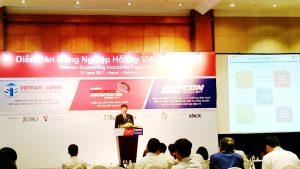 Quan điểm sản xuất của doanh nghiệp Nhật Bản qua Diễn Đàn Công Nghiệp Hỗ Trợ Việt Nam 2017