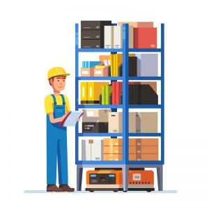 Nguyên tắc tổ chức và sắp xếp kho trong 5S